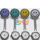 New Smile Face Nurse Fob Brooch Pendant Pocket Watch EDUS