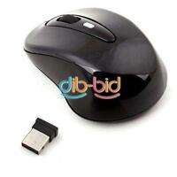 Power Switch 2.4G 10M Wireless USB Wheel Optical Mouse for PC Laptop ER
