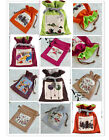 Wholesale 10pcs Chinese Traditional Handmade Folk Custom Flax Wallet Pouch Bags