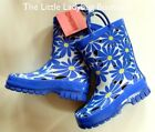 NWT Gymboree FLOWER SHOWERS Blue Daisy Flower Rain Boots Girls Size 9 NEW