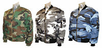 MA1 FLIGHT BOMBER ARMY COMBAT MILITARY US PILOT SKIN MOD BIKER AIRFORCE JACKET