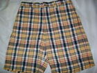 Sonoma Jeans Mens Plaid Shorts Sz 32 NEW Without TAGS