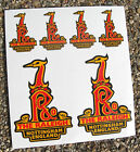 RALEIGH Vintage style Cycle Bike head frame Stickers