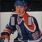 Wayne Gretzky 2X LIGHT SWITCH COVER PLATE Edmonton Oilers