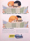 1959 Chevy Hertz ORIGINAL Vintage Ad CMY STORE 4 MORE GREAT  ADS   5+= FREE SHIP
