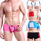 Men's Sexy Underwear shorts boxers briefs trunks with small breathe holes IN 3SZ