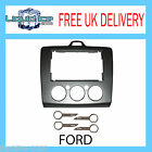REPLACEMENT DOUBLE DIN FASCIA DFP-07-17 FORD FOCUS 2006 ONWARDS & PC5-132 KEYS