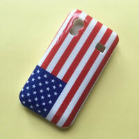 New Old style US flag Gloss hard case back cover for Samsung Galaxy Ace S5830