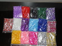 MIXED COLOUR WEDDING TABLE SCATTER CRYSTALS DIAMOND CONFETTI FAVOUR DECORATION