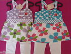 Girls FUNKY DIVA top & leggings outfit set in lilac or turquoise 2-3 3-4 5-6yrs