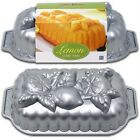 Nordicware 3D LEMON LOAF Cake Bread Fruit CITRUS BLOSSOM Bread Jello Mold 6 Cup