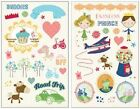 """Fancy Pants """"Childish Things"""" Chipboard Sticker Shapes!"""