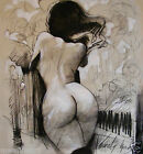 Erotic art, A3,A4 Archival Print, female nude, Lucinda Lyons, Oxford  Scholar
