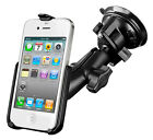 RAM Suction Cup Phone Holder for iPhone 4, 4S Without Case or Sleeve
