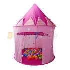 NEW FAIRY PRINCESS CASTLE POP UP TENT PLAY HOUSE HOT PINK