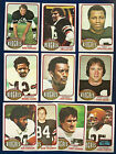 1976 Topps Lot of 35 Bengals (20) Browns (15) Football Cards ExMt-NrMt