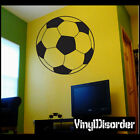 Soccer AL 013 Ball Sports Vinyl Decal Car or Wall Sticker Mural Large