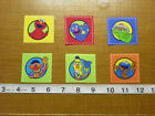 Sesame Street Oscar Grouch Grover Cookie Monster Elmo Fabric Iron Ons Style #5