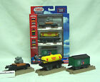 Thomas TrackMaster Fisher Price Plastic DIESELWORKS DELIVERY Train Cars New/Pack