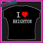 I LOVE HEART BRIGHTON T-SHIRT ALL SIZES & COLOURS