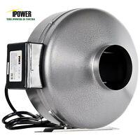 """iPower 4"""" 6"""" 8"""" 10"""" 12"""" inch INLINE DUCT FAN blower HIGH CFM cool vent exhaust"""