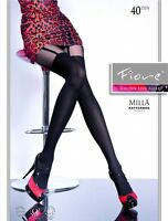 Fiore Milla Mock Suspender Tights 40 Denier