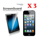 3 X Ultra Clear Screen Protector for iPhone 5 Apple