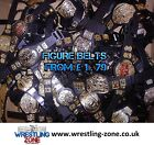 WWE TITLE BELTS wrestling figure accessories lot wwf/wcw/ecw/tna