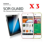 3 X SopiGuard HD Ultra Clear Screen Protector for iPod Touch 5th generation 2012
