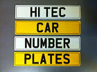 Number Plates / Registration plates & Show Plates PAIR Fast P&P