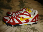 WOMENS NIKE Running ATHLETIC SHOES SIZE 10 Cleats? Red Yellow RARE