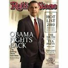 ROLLING STONE MAGAZINE October 2010 OBAMA FIGHTS BACK Interview NEW