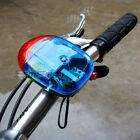 Cycling Bike Bicycle 8 Sounds Electronic Horn Bell Siren 5 LED Warning Lights