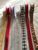 Luxury Wire- Eged RIBBON  1.5 in or  3.8 cm