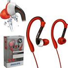 BrandNEW Philips SHQ3000 ActionFit Sports Waterproof Washable Earhook Headphone