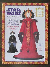 Queen Amidala Paper Dolls by Joyce Patti (1999, Paperback, Activity Book)