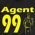 Agent 99 get smart max police cia fbi movie tv 007 vintage retro Funny T-Shirt