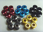 New Red Super light 8.8g 7075 T6 alloy cnc chain ring bolt Shimano Road MTB,X 5