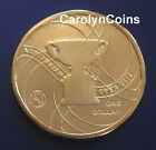$1 2012 Australian Open Official Australian Open Men's Trophy One Dollar Coin