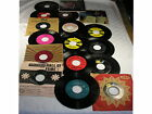 "Set of 23 Vintage 45 rpm 7"" Records - assorted mixed artists - Good"