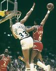 Julius Erving Dunk On Kareem Abdul Jabbar All Star 8X10 Color Photo Lakers 76ers