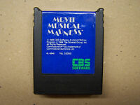 MOVIE MUSICAL MADNESS  Cartridge Commodore 64 C64 SX64 C128 Tested Working
