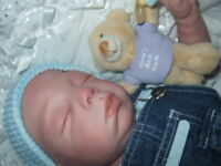 Over 80 pic Kit to Reborn Baby Baylee by Lorna miller-Sands with Air Dry Paints
