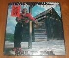 """STEVIE RAY VAUGHAN Orig 1985 """"Soul To Soul"""" LP SEALED w STICKER"""