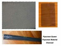 Flyscreen Material Insect Screening by Metre Charcoal