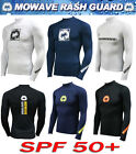 mowave men junior surfing shirts athletic rash guard swimming swim wear wetsuits