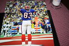 BUFFALO BILLS ANDRE REED SIGNED 16X20 PHOTO 4X AFC CHAMPS