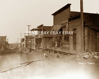 """1894-1920'S PHOTO OF THE MINING TOWN OF """"PEARL, IDAHO"""" ID A GHOST TOWN BY BOISE"""