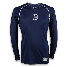 Detroit Tigers 2013 AC Pro-Combat Hypercool Long Sleeve Top by Nike