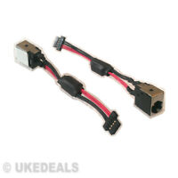 NEW PACKARD BELL DOT S PAV80 AC DC POWER JACK SOCKET HARNESS CABLE-IN WIRE PLUG